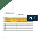 UNEXPO-VRP Horario Asignaturas 1er al 3er Semestre Lapso 2012-2