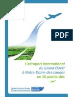 """""""L'aéroport du Grand-Ouest"""" en-10 points-clés, par le Syndicat mixte d'études (2011)"""