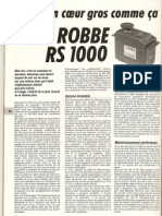 Robbe RS 1000 Auto8 Avril88 33