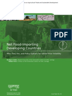 Net Food Importing Developing Countries Who They Are and Policy Options for Global Price Volatility