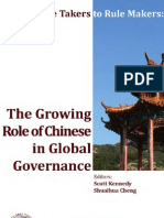 The Growing Role of Chinese in Global Governance
