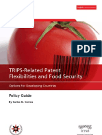 Trips Related Patent Flexibilities and Food Security