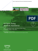 US Farm Policy and Risk Assistance