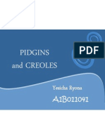Chapter 3 - Pidgin, Creole