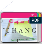Chapter 8 - Change