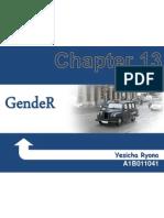 Chapter 13 - Gender
