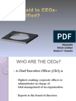 salary paid to the CEOs- is it justified?