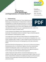Hintergrundpapier zur Großen Anfrage (Auswertung)
