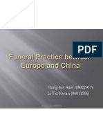 Funeral Practice in Chinese and Western Cultures
