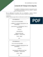 Formato de Presentación Trabajo de Investigación (04-10-2012)