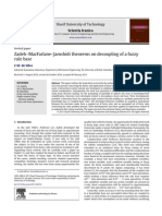 Zadeh–MacFarlane–Jamshidi theorems on decoupling of a fuzzy