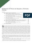 CAP 12 - Rudimentos Da Teoria Das EDP
