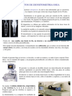 Densitometria y Radiologia Dental