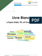 Livre Blanc Open Data TIC Et Tourisme - Telecom Valley