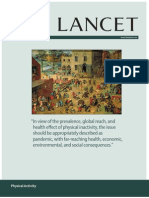 Rethinking our approach to Physical Activity - The Lancet July 2012