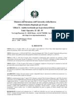 Decreto Prot AOOUSPRM n 17406 Del 11-10-2012