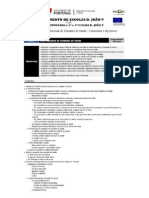 FICHA 1- Conteudos e Objectivos