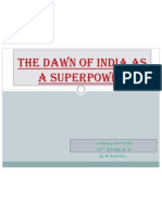 Dawn of India