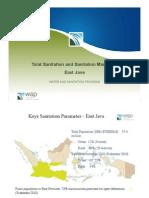 Total Sanitation and Sanitation Marketing (TSSM) East Java
