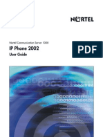Nortel Networks IP2002 User Guide