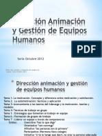 Dirección animación y gestión de e h