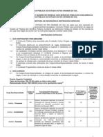 Edital Abertura Dpe Rs 2012