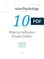 Conversion Psychology by Gregory Ciotti