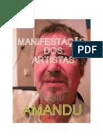 MANIFESTAÇÃO DOS ARTISTAS