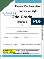 2do Grado - Bloque 1 - Formación CyE