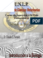 Biologia Resumen de Veterinaria