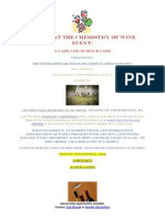 Join Us at the Chemistry of  Wine Event