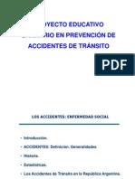 Proyecto Educativo Sanitario en Prevencion de Accidentes de