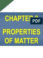 Ch_2 Properties OfcpII Matter