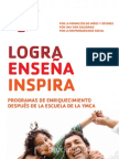 Spanish After-School Brochure 2012