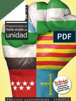 Preelecciones-25N2012
