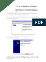Configurando a VPN No Windows 2000