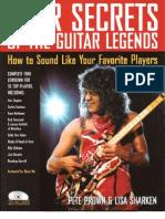 Gear Secrets of the Guitar Legends - PDF