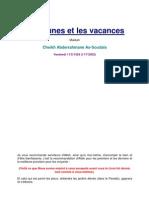 Les Jeunes Et Les Vacances 11 07