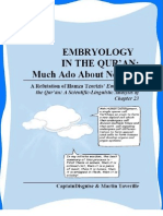 2 101612 - Embryology in the Quran - Much Ado About Nothing
