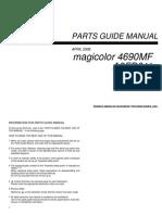 Konika minolta MC 4690MF manual de servicio
