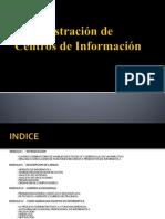 Administración de Centros de Información