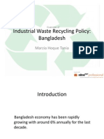 Industrial Waste Recycling Policy Overview