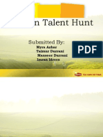 College Presentation - Lipton Talent Hunt1 HOURL2