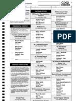 2012 Burke County Sample Ballot 2 (H112)
