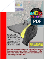 Relatorio i Fmddpcd Olinda2012 Ultimaversaocomportariainformada as 14horas