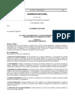 Ley 661 - Ley Para La Distribucion y Uso Responsable Del Servicio Publico de Energia Electrica