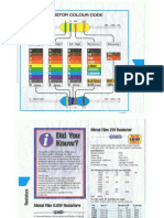 Resistor Colour Codes
