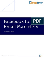 Facebook for Email Marketers — PageLever Whitepaper