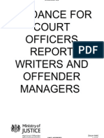 Pre-Sentence Reports Targeting Guidance