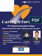 Providers' Council 37th Annual Convention & Expo Caring It Forward